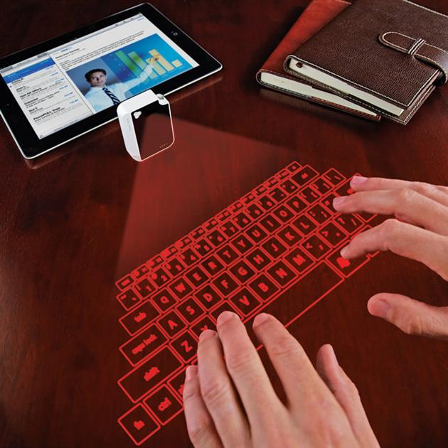 Keychain Laser Projection Virtual Keyboard (1)