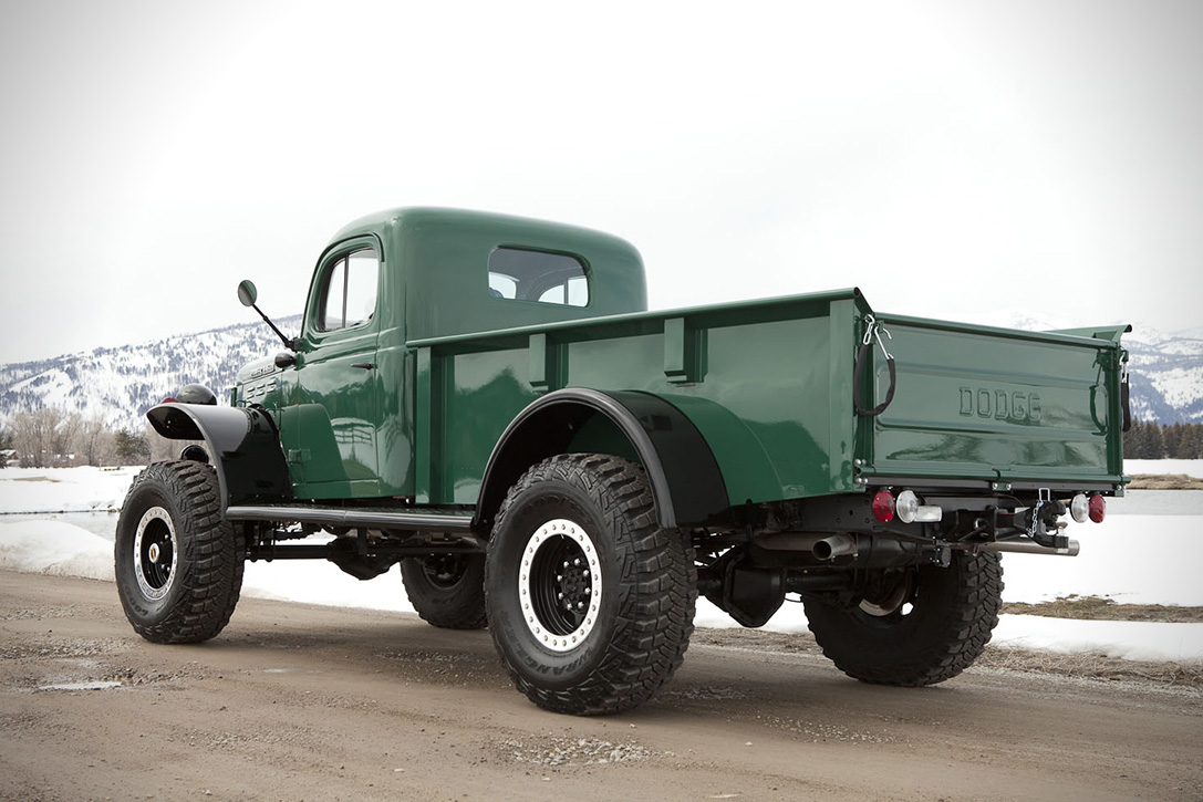 Legacy Power Wagon Vintage Truck 03