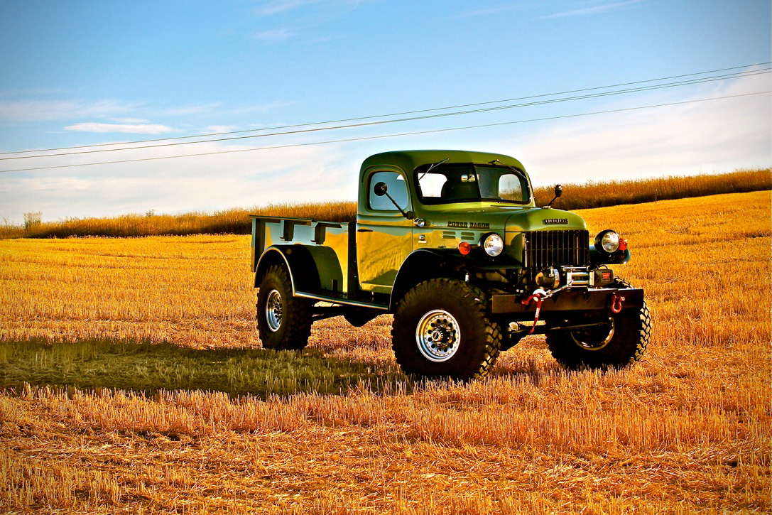 Legacy Power Wagon Vintage Truck 04