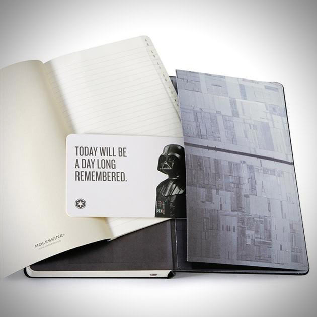 Limited Edition 2013 Star Wars Daily Planner by Moleskine (2)
