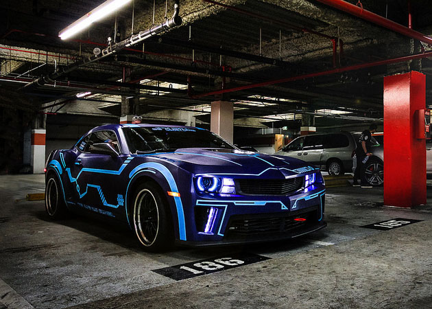 Tron Chevy Camaro by Team Turbo Legacy (4)