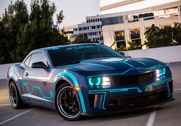 Tron Chevy Camaro By Team Turbo Legacy Hiconsumption