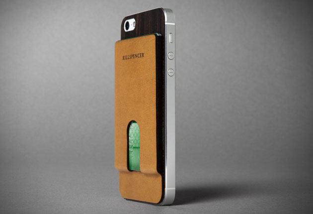 Apple iPhone 5 Card Carrier Case by Killspencer | HiConsumption