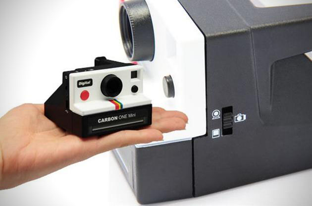 Polaroid Inspired One Mini Digital Camera by Carbon (1)