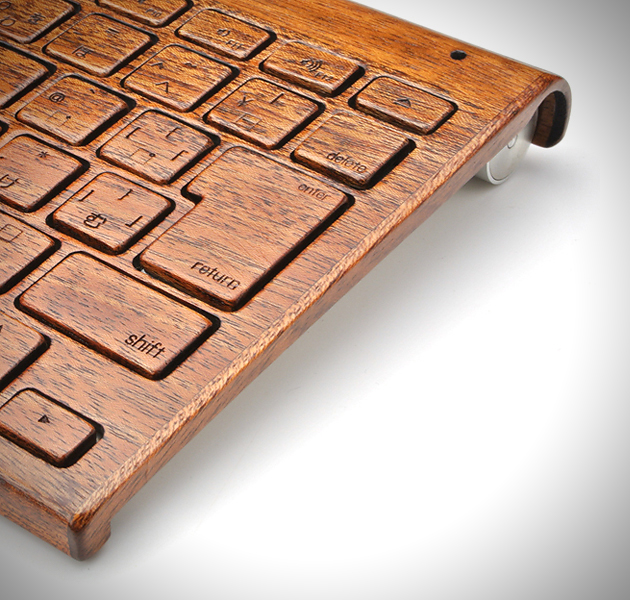 buy online 51431 1f325 Wood Cover for Apple Wireless Keyboards | HiConsumption