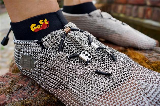 Chainmail Barefoot Shoes Hiconsumption