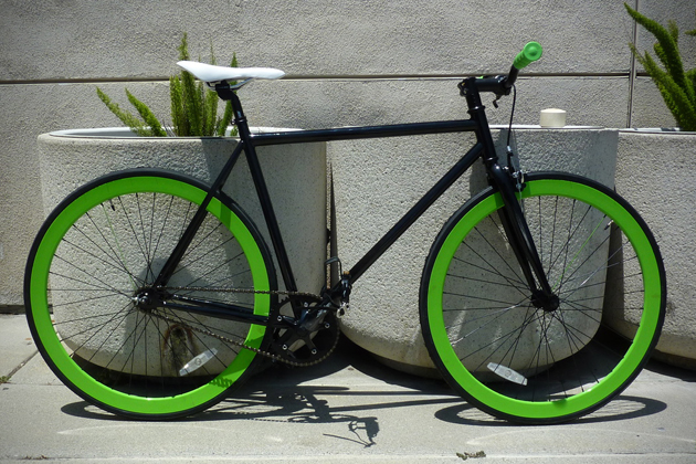 The Hotel Glow In The Dark Wheels Bicycle by Pure Fix Cycles (1)