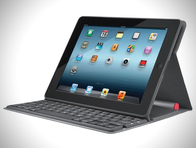 Logitech Solar Keyboard Folio for iPad (4)