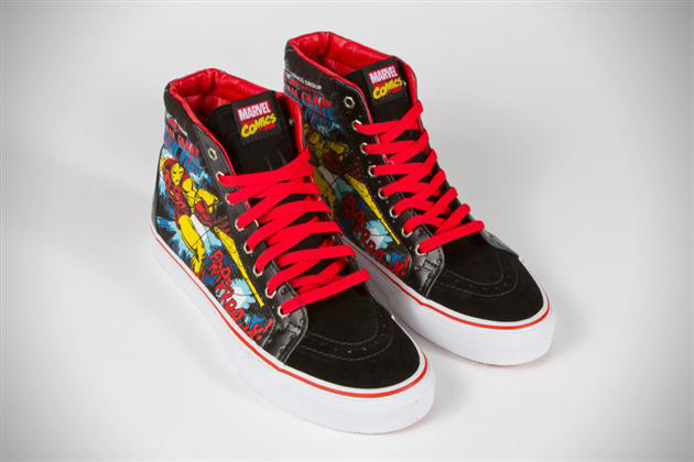 7abe803a2cc3 Marvel x Vans Classics Collaboration Sneakers (1)