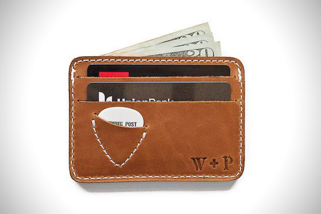 Mojave Guitar Pick Leather Wallet (2)
