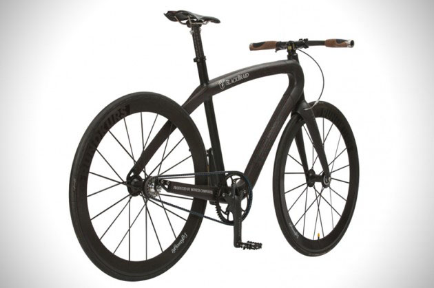 Carbon Fiber Bikes >> Ultra Lightweight Carbon Fiber Blackbraid Bicycle Hiconsumption