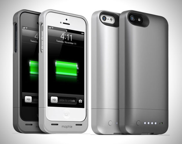 big sale e3842 dc27f iPhone 5 Juice Pack Helium Battery Case by Mophie | HiConsumption
