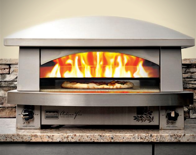 Artisan Fire Outdoor Pizza Oven By Kalamazoo Hiconsumption