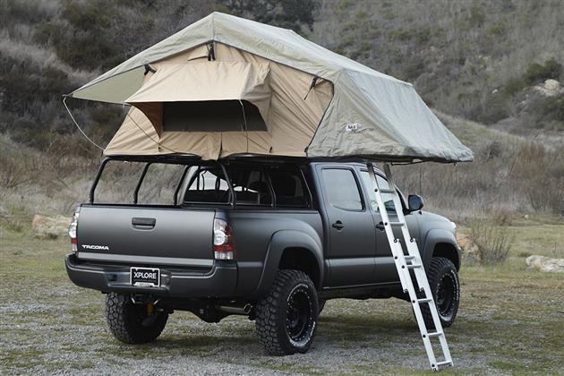 Adventure Series Toyota Tacoma By Xplore Vehicles