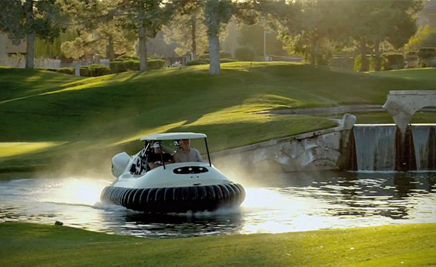 Hovercraft Golf Cart by Bubba Watson | HiConsumption on bicycle in water, go kart in water, golf hole in water, backhoe in water, golf near water, golf hole on water, tools in water, scooter in water, electric vehicle in water, gps in water, trailer in water, generator in water, volkswagen in water, grill in water, camper in water, wheelchair in water, golf by water, bus in water, utv in water, plants that grow in water,