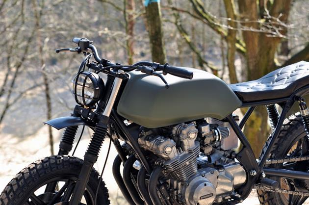 Custom Honda Cb750 Scrambler By Left Hand Cycles