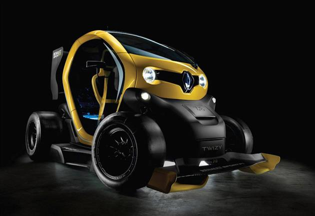 Renault Twizy Sport F1 Electric Concept (6)