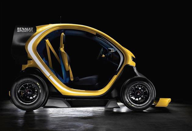 Renault Twizy Sport F1 Electric Concept (4)
