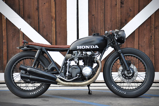 1975 Honda CB550 by Seawead and Gravel