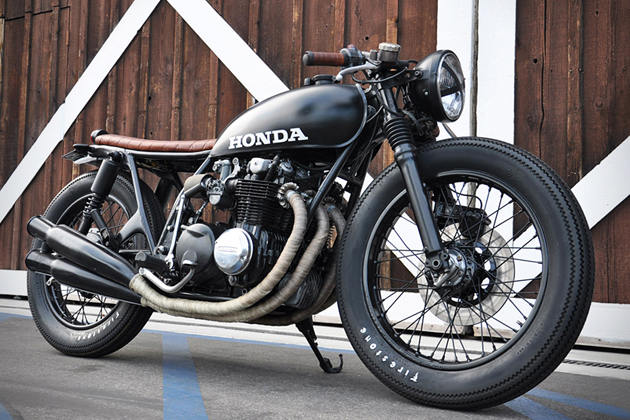 1975 Honda CB550 by Seawead and Gravel 2