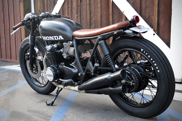 1975 Honda CB550 by Seawead and Gravel 4