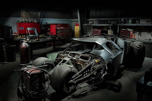1 6 Million Batman Tumbler Replica Hiconsumption