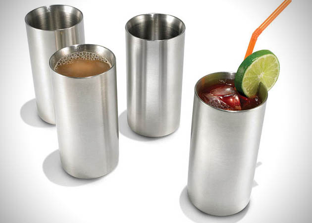Cold Maintaining Stainless Steel Drinkware