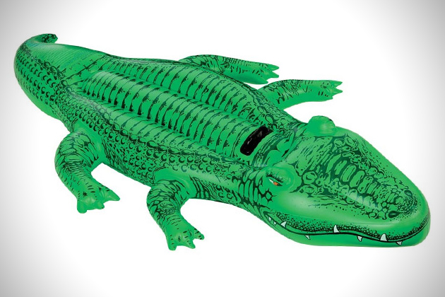 Giant Gator Ride-On Inflatable Float