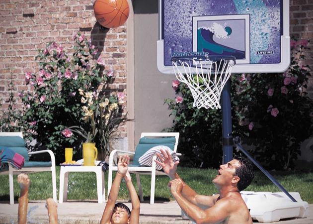 Lifetime Poolside Basketball System