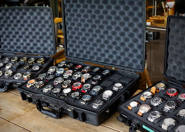 Martinator Watch Collector Cases