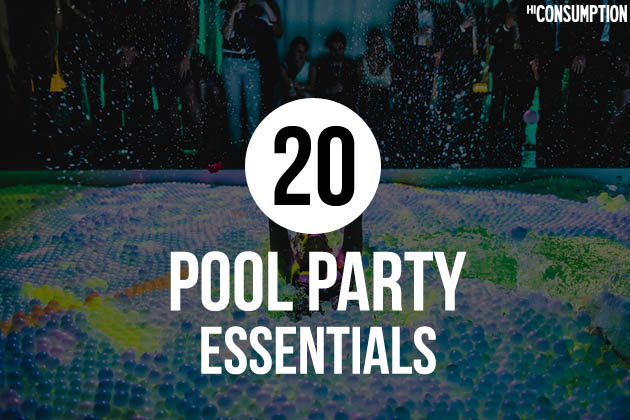 Pool Party Essential Items