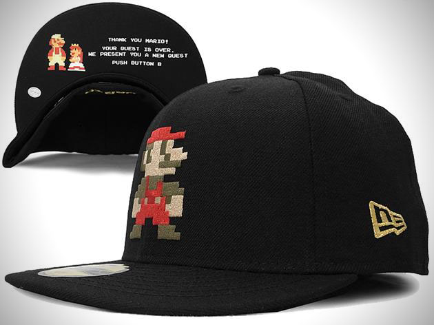 Super Mario Bros New Era Fitted Hat Collection