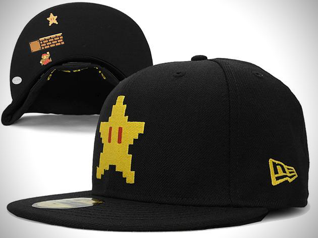 Super Mario Bros New Era Fitted Hat Collection 2