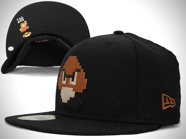 Super Mario Bros New Era Fitted Hat Collection 3