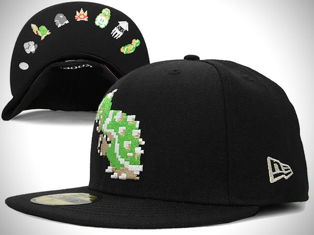 Super Mario Bros New Era Fitted Hat Collection 4