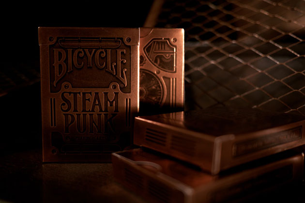 Bicycle Steampunk Playing Cards 2