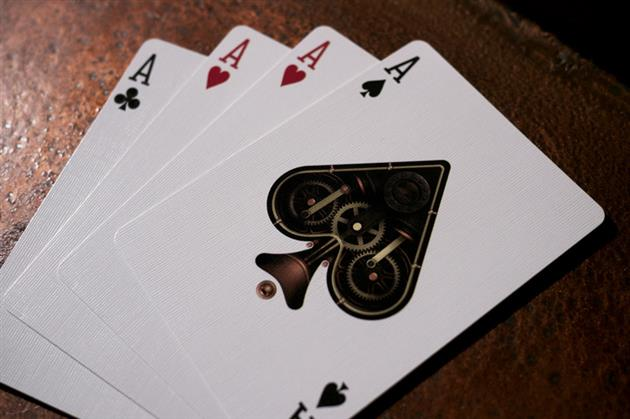 Bicycle Steampunk Playing Cards 3