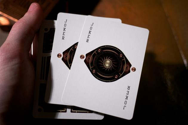 Bicycle Steampunk Playing Cards 5