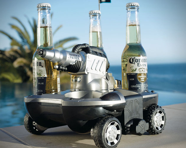 Electric Amphibious Beer Delievery Vehicle