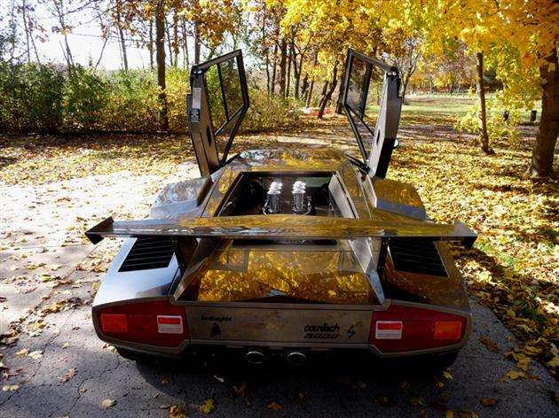 Lamborghini Countach Built In Mans Basement 15