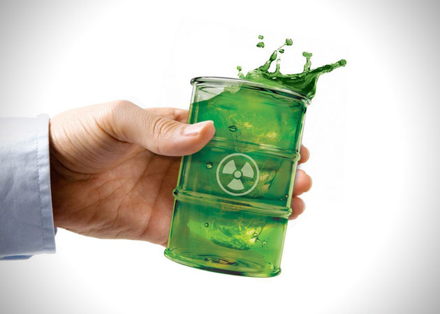 Polluted Drinking Glass 2