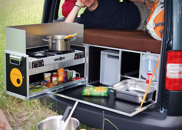 QUQUQ Campingbox: Car Camper Conversion Kit | HiConsumption