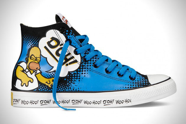 bc8156ad8fa8 The Simpsons Converse Chuck Taylor All Star Footwear Collection ...