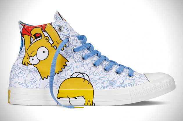 e6645779ef9635 The Simpsons Converse Chuck Taylor All Star Footwear Collection ...