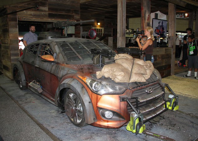2013 Hyundai Veloster Zombie Survival Machine 2