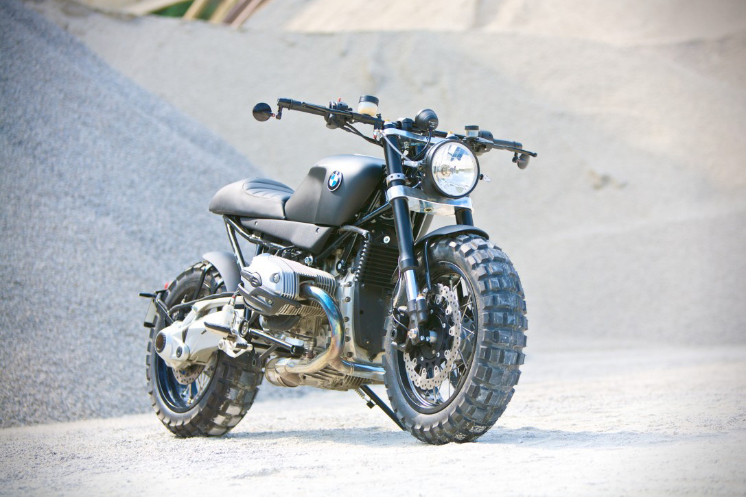 BMW R1200R Custom Motorcycle by Lazareth 2