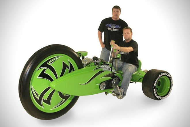 Green Machine Big Wheel Motorcycle Hiconsumption