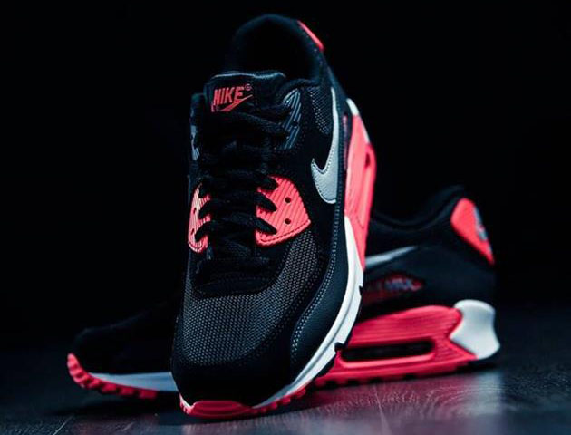 nike air max 90 essential infrared hiconsumption