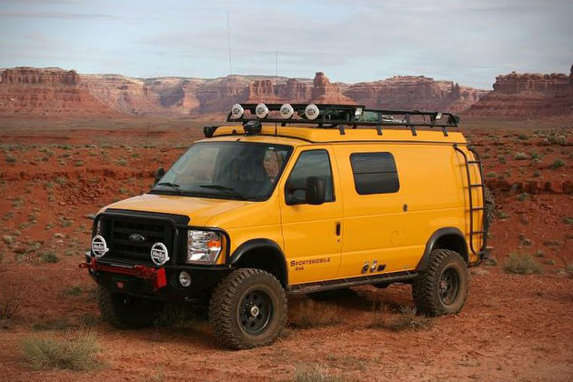Ultimate Adventure Vehicle by Sportsmobile | HiConsumption