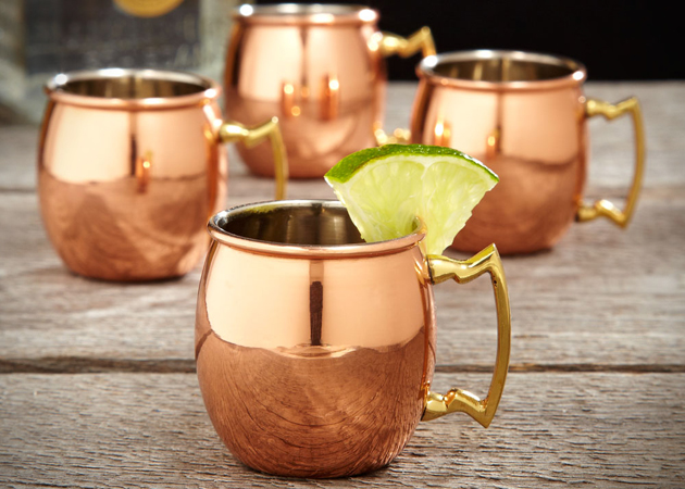 Copper Moscow Shot Glasses
